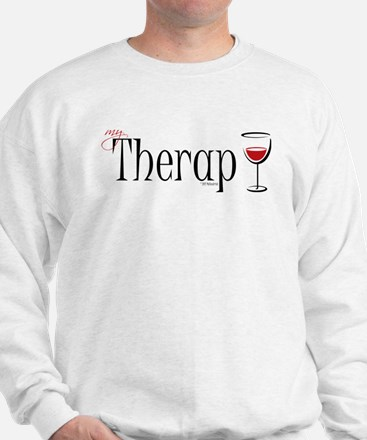 My (Wine) Therapy Sweatshirt
