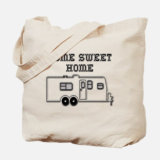 Home Sweet Home Travel Trailer Tote Bag