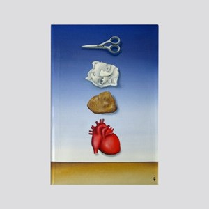 SURREALISM PAINTING Rectangle Magnet