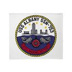 USS ALBANY Throw Blanket