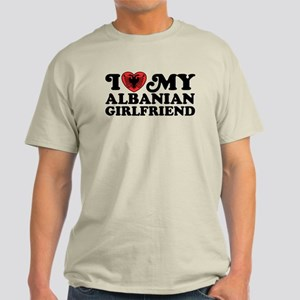 I Love My Albanian Girlfriend Light T-Shirt