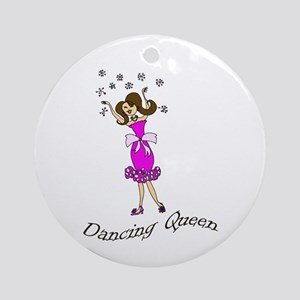 Dancing Queen Ornament (Round)
