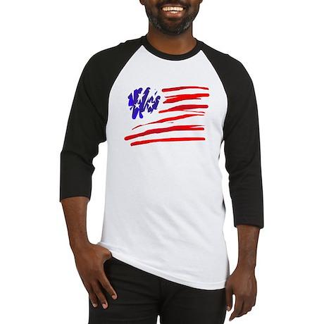 US flag Baseball Jersey