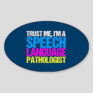 Trust Me SLP Sticker (Oval)