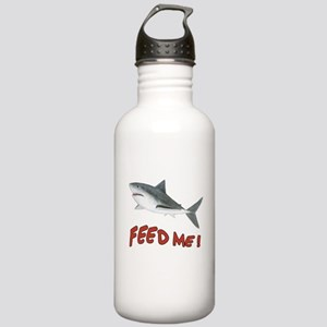 Shark - Feed Me Stainless Water Bottle 1.0L