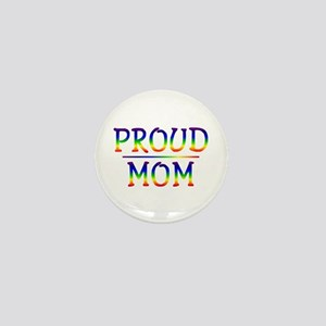 Proud Mom Mini Button