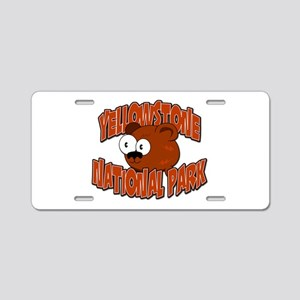 Yellowstone Little Bear Aluminum License Plate