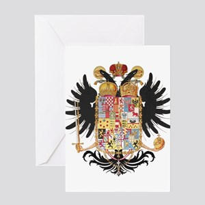 German Coat of Arms Vintage 1765 Greeting Card