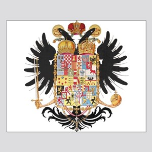 German Coat of Arms Vintage 1765 Small Poster