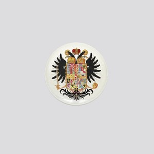 German Coat of Arms Vintage 1765 Mini Button