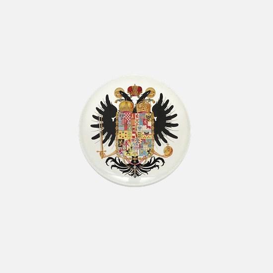German Coat of Arms Vintage 1765 Mini Button