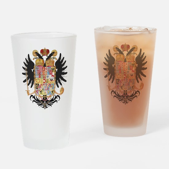 German Coat of Arms Vintage 1765 Drinking Glass