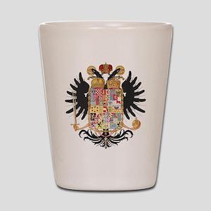German Coat of Arms Vintage 1765 Shot Glass