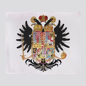German Coat of Arms Vintage 1765 Throw Blanket