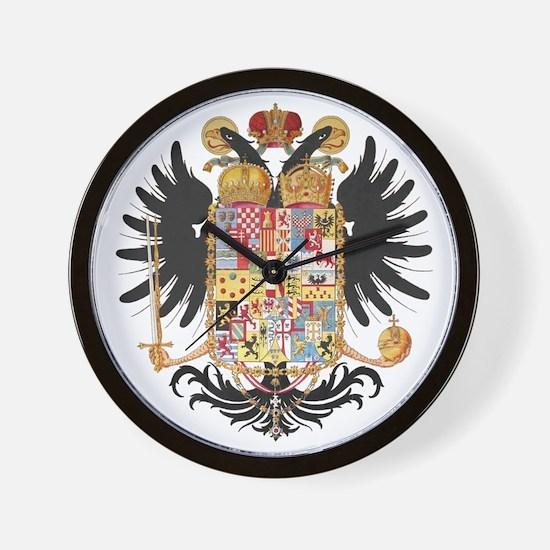 German Coat of Arms Vintage 1765 Wall Clock