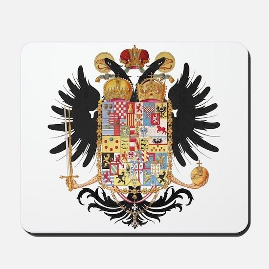 German Coat of Arms Vintage 1765 Mousepad