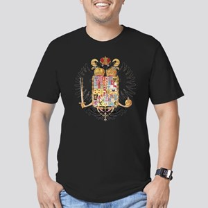 German Coat of Arms Vintage 1765 Men's Fitted T-Sh