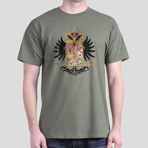 German Coat of Arms Vintage 1765 Dark T-Shirt