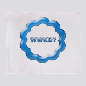 WWKD? Throw Blanket