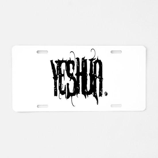 Unique Yeshua Aluminum License Plate