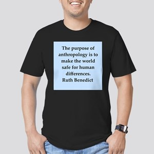 Ruth Benedict quotes Men's Fitted T-Shirt (dark)