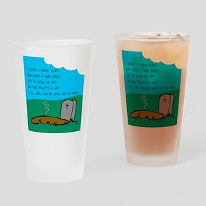Croak Drinking Glass