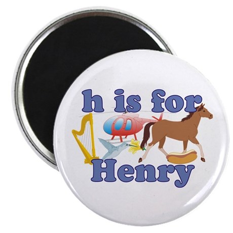 "H is for Henry 2.25"" Magnet (10 pack)"