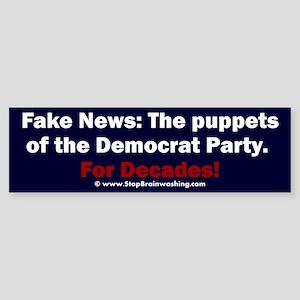 Democrat Puppets (bumper) Bumper Sticker