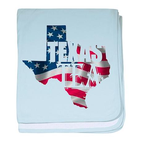 Texas Tea baby blanket