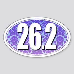 Fancy 26.2 Marathon Sticker (BLUE/PURPLE)