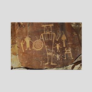 Petroglyph Rectangle Magnet