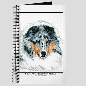Blue Merle Shetland Sheepdog Journal