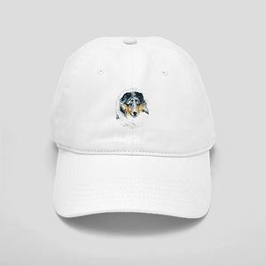 Blue Merle Shetland Sheepdog Cap
