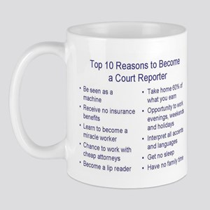 Top Ten Reasons Blue Mugs