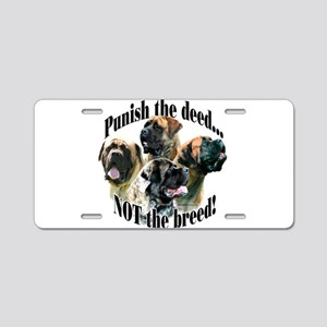 Mastiff (multi) Anti-BSL 3 Aluminum License Plate