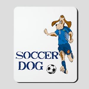 Soccer Dog Mousepad