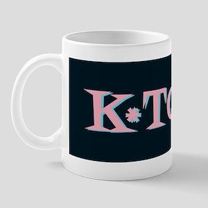 K-Town Black 50s Retro Mug