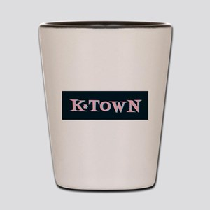 Black Retro Knoxville K-Town Shot Glass