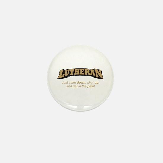 Lutheran / Pew Mini Button