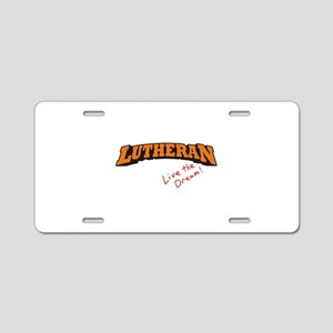 Lutheran / LTD Aluminum License Plate