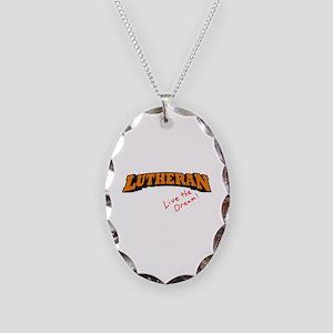 Lutheran / LTD Necklace Oval Charm