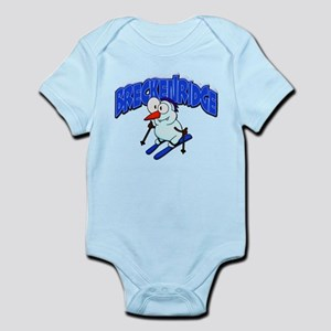 Breckenridge Snowman Infant Bodysuit