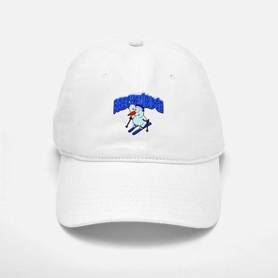Breckenridge Snowman Baseball Baseball Cap