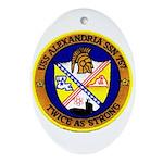 USS ALEXANDRIA Ornament (Oval)