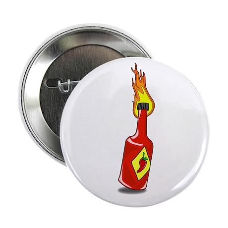 """Cartoon Hot Sauce 2.25"""" Button (10 pack)"""