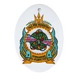 USS ABRAHAM LINCOLN Ornament (Oval)