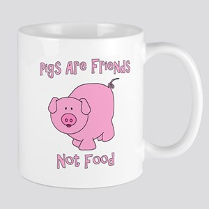 Pigs Are Friends Not Food Mug
