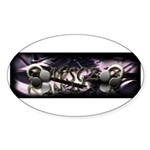 WSGZ Apparel Sticker (Oval 50 pk)