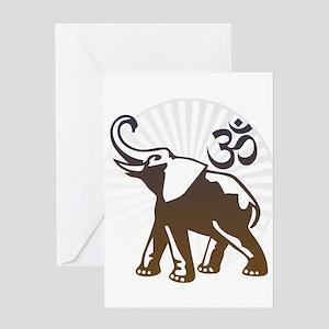 Ganesh Aum Greeting Card