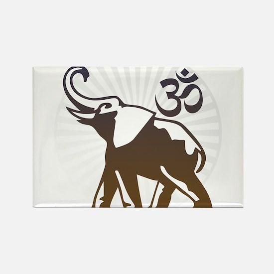 Ganesh Aum Rectangle Magnet